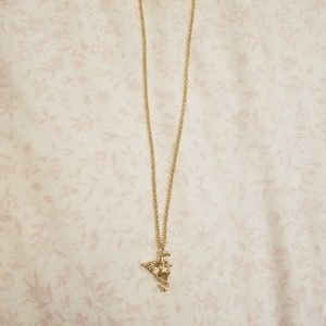 kate spade Jewelry - Kate Spade Gold Dragon Necklace